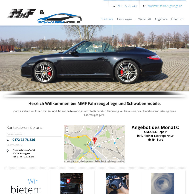MMF-Fahrzeugpflege-Screenshot