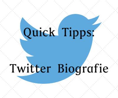 Quick-Tipps-Twitter-Biografie